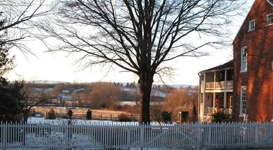 VIEW OF THE OPEN SPACE OF THE PHILLIPS FARM IN WATERFORD