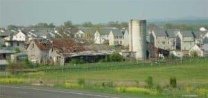 Growth around Leesburg Virginia in 2004