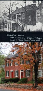 Ratcliffe House on Lower Main Street Yesterday and Today in Waterford Virginia