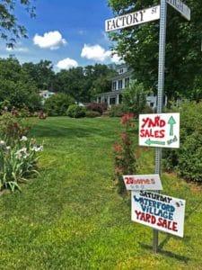 Waterford Virginia yard sale