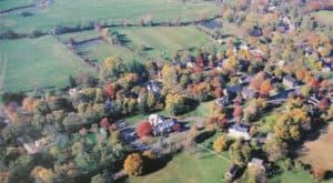 Aerial view of Waterford Virginia