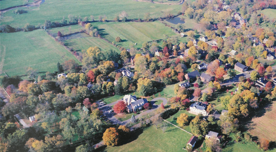 Aerial view of Waterford Virginai