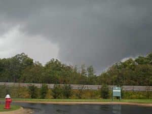 Tornado off of Route 28 [Photo Leesburg Today]