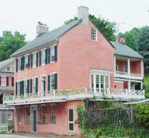 Pink House in Waterford VA