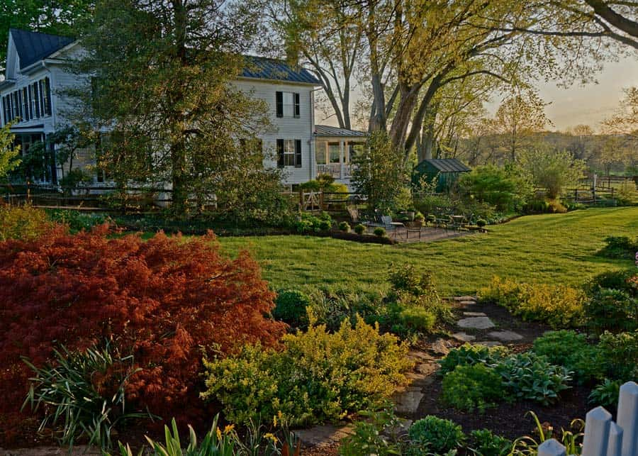 Garden in Waterford Virginia