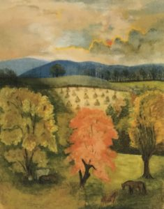 phillips farm waterford va painting mary steer 1899