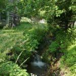 Tannery Creek in Waterford in Loudoun County Virginia