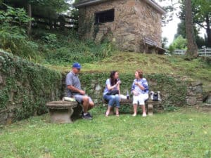 Picnic on the Village Green in Waterford Loudoun County VA